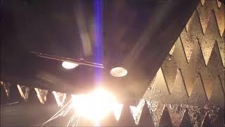 鉄の厚板加工とレーザーの出方
