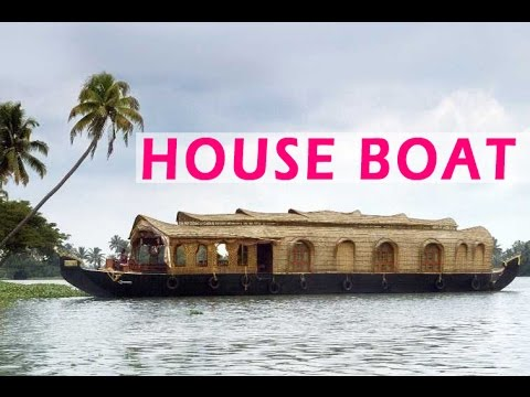 Kerala House Boat Most Beautiful Place In India Kerala India Youtube