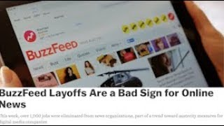 BuzzFeed Layoffs