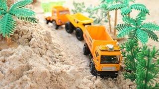 Construction vehicles ของเล่นรถก่อสร้างคันเล็ก ตะลุยไซด์ก่อสร้าง รถแม็คโคร รถตักดิน รถดั้ม รถบรรทุก