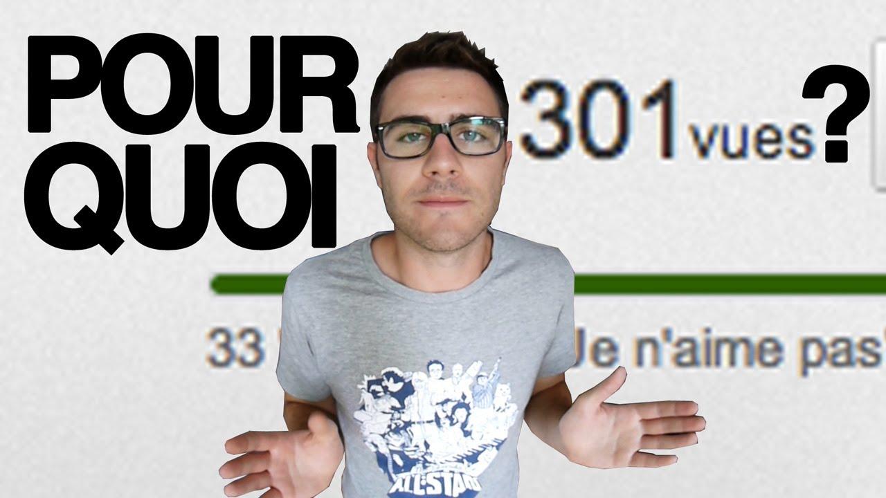 Pourquoi YouTube bloque à 301 vues ? – Cyprien