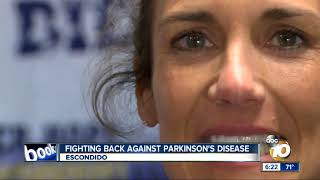 Fighting back against Parkinson's Disease at Escondido gym