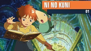 Ni no Kuni: Wrath of the White Witch #01 - O Início [PS3] [PT-BR]