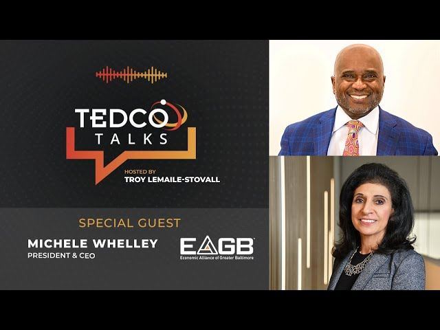 TEDCO Talks: Troy LeMaile-Stovall with Michele Whelley, EAGB