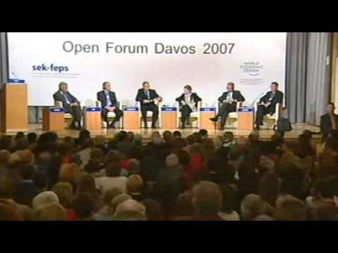 Davos Open Forum 2007 - Religion: Source of Peace or War?