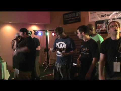 "Dual Core - Magnificent 7 (aka ""The Twitter Song"") at Nerdapalooza 2009"