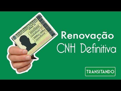 Renovação de Carteira Nacional de Habilitação - CNH Definitiva (Video Piloto)