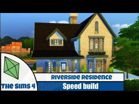 Sims 4 Speed Build: Riverside Residence
