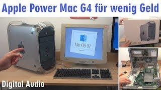 Apple Power Mac G4 für wenig Geld - Mac OS X - Mac OS Classic