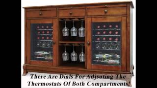 Wine Credenza With Refrigerator - Great Wine Cooler Cabinet Furniture