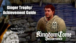 Kingdom Come: Deliverance - Ginger Trophy/Achievement Guide | Save Ginger from the Bandits