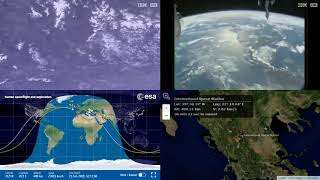 European Coastlines - NASA/ESA ISS LIVE Space Station With Map - 498 - 2019-02-21