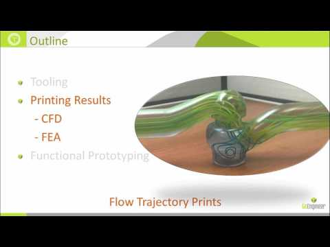 SOLIDWORKS Simulation - Enhancing Analysis Results with 3D Printing