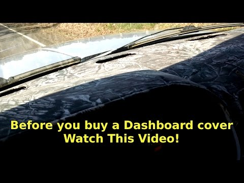 Car Dash Cover Review -Truck Dashboard Cover - Watch This Before You Buy One