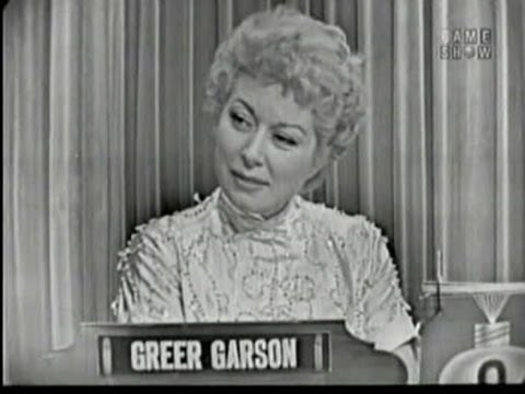 What's My Line? - Greer Garson (Oct 25, 1953)