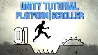 [Unity Tutorial] Platform   Sidescroller 01 thumbnail