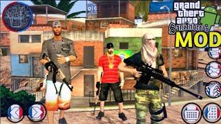 Gta vida do crime V3 super leve para android!(favelas,armas,motos,skins de traficantes...)