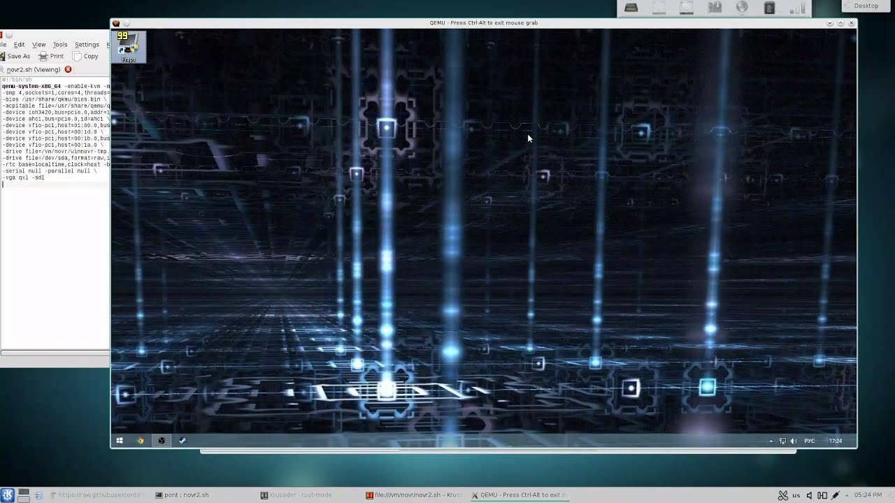 QEMU VGA passthrough without a real monitor attached