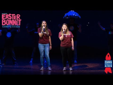 Stoneman Douglas Students Perform with Broadway's School of Rock - Easter Bonnet Competition 2018