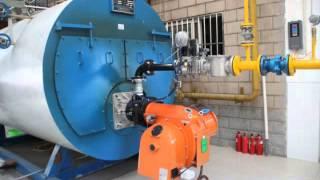 Industrial boiler project