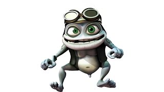 Why has Crazy Frog got his nob out?