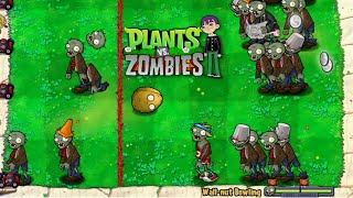 Plants Vs Zombies 1 - Auto GamePlay EP1 - Mini Games Bowling