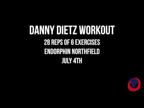 Danny Dietz Hero WOD