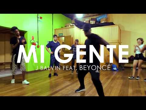 MI GENTE (Remix)   J Balvin feat. Beyoncé • Choreography by @brunoobarbosa