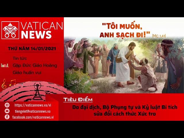 Radio: Vatican News Tiếng Việt thứ Năm 14.01.2021