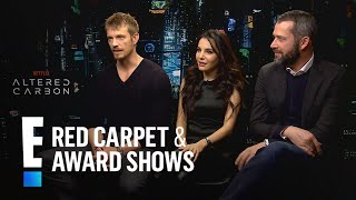 """""""Altered Carbon"""" Stars Dish on Crazy Tech From the Show 