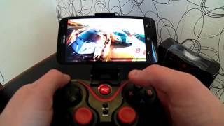 Terios S3 Беспроводной Bluetooth Gamepad (Распаковка, обзор и проверка его в деле)