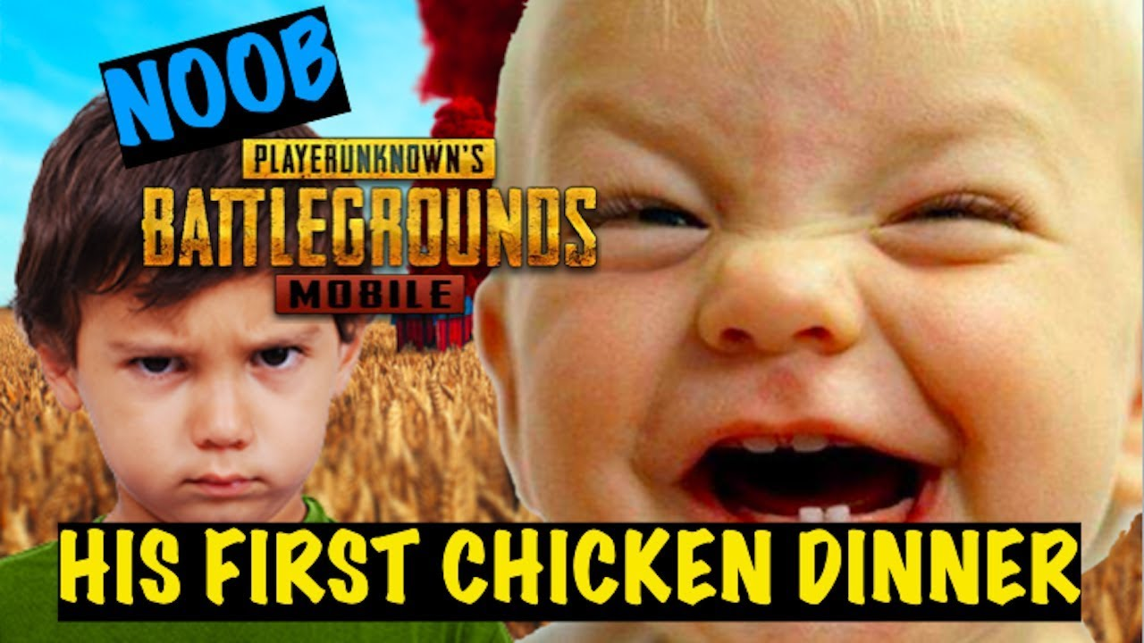 Carrying my noob friend to his first win in pubg mobile funniest moments triggered insaan