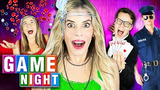Giant GAME NIGHT with Rebecca Zamolo to Win $10,000 (Police Called)