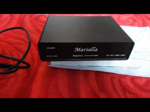 Обзор и тест USB Audio DAC Mariolla PCM 300