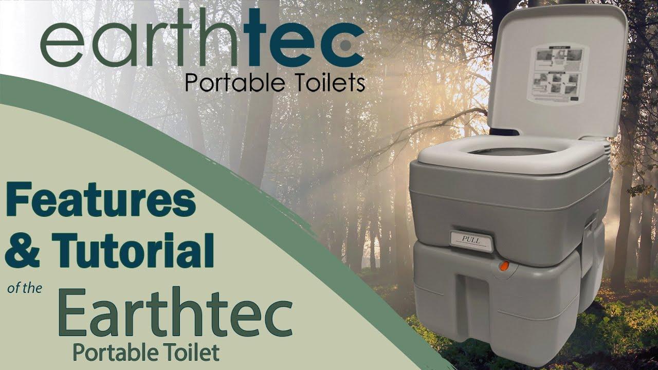 Captivating Earth Tec Portable Toilet Tutorial   YouTube