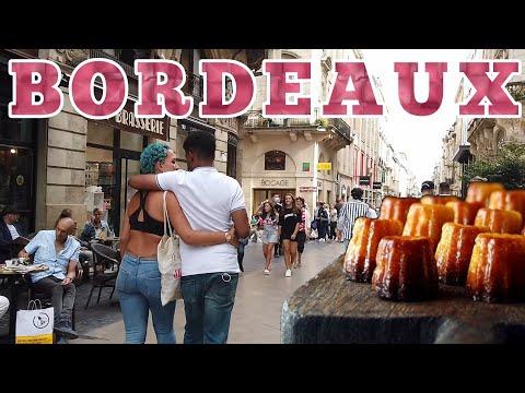 Bordeaux 🇫🇷 France - The City Center [Walking Tour] [City Travel]