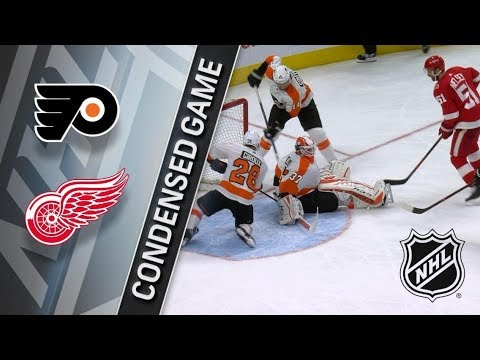 Philadelphia Flyers vs Detroit Red Wings – Jan. 23, 2018 | Game Highlights | NHL 2017/18.Обзор матча