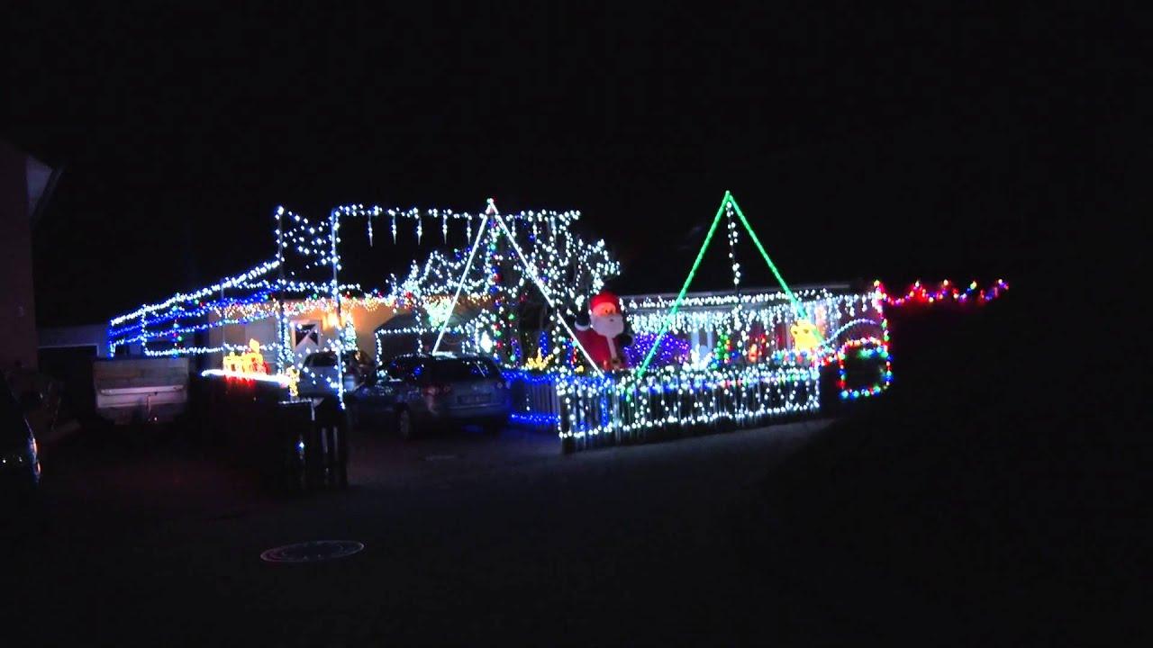 Weihnachtsbeleuchtung in Evessen - YouTube