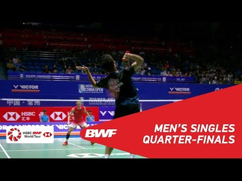 QF | MS | Anthony Sinisuka GINTING (INA) vs CHEN Long (CHN) [6] | BWF 2018