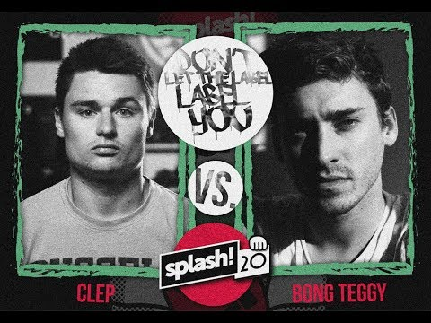 Clep vs Bong Teggy // DLTLLY RapBattle // Splash 2017