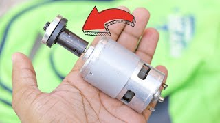 Amazing DIY idea For DC Motor