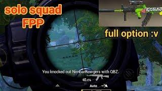 PUBG Mobile - Lần Đầu Tiên Dùng Xe Máy Ăn Kill Dễ Dàng :v   QBZ Scope 6 ZoomOut Cực Phê
