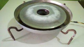 Cara membuat Kompor listrik dengan memanfaatkan alat memasak Nasi yang sudah rusak