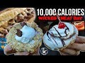 10,000 Calories Of Wickedness | Wicked Cheat Day #59