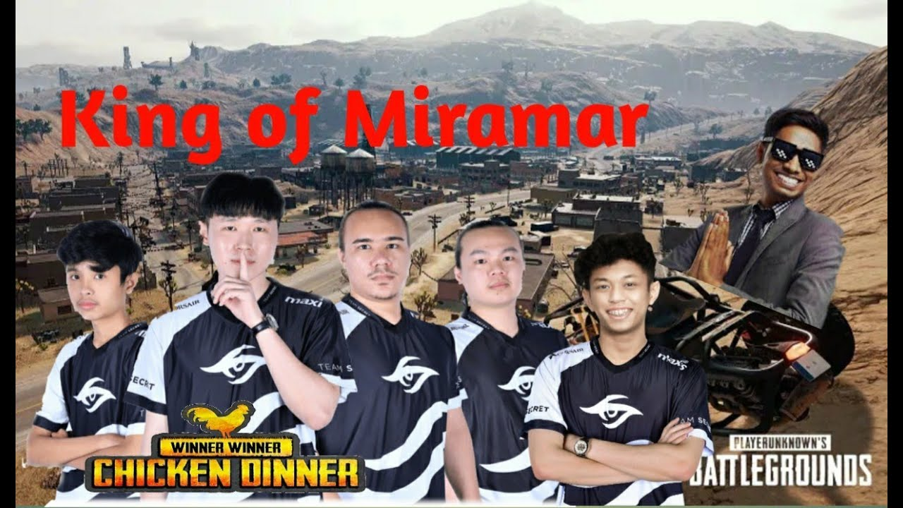 Team Secret King Of Miramar   Week 2 Day 5   PMWL EAST Super Weekend - PUBG MOBILE