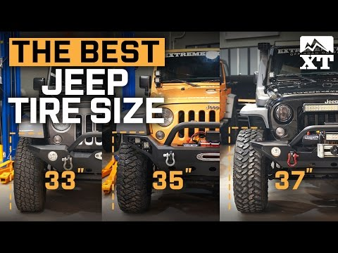 Thumbnail: Jeep Wrangler 33 vs 35 vs 37 Inch – How To Select The Best Tires