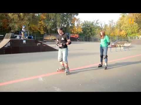 Выбирай спорт. Выпуск 1. Катание на роликовых коньках.