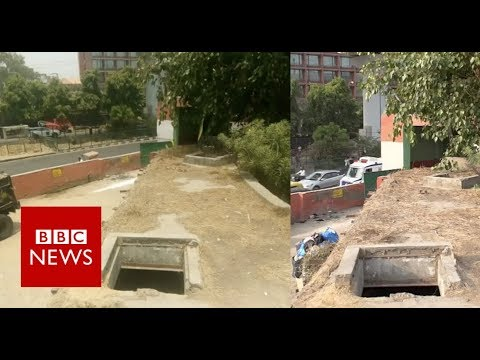 The 'underground lair' that turned out to be a loo - BBC News