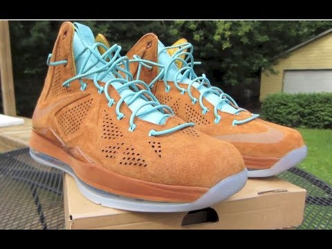 the latest 813b4 926cc Lebron X Ext QS Hazelnut Review + On Foot (Nike QuickStrike Brown Suede)  Got Sole  Sneaker Shop - YouTube