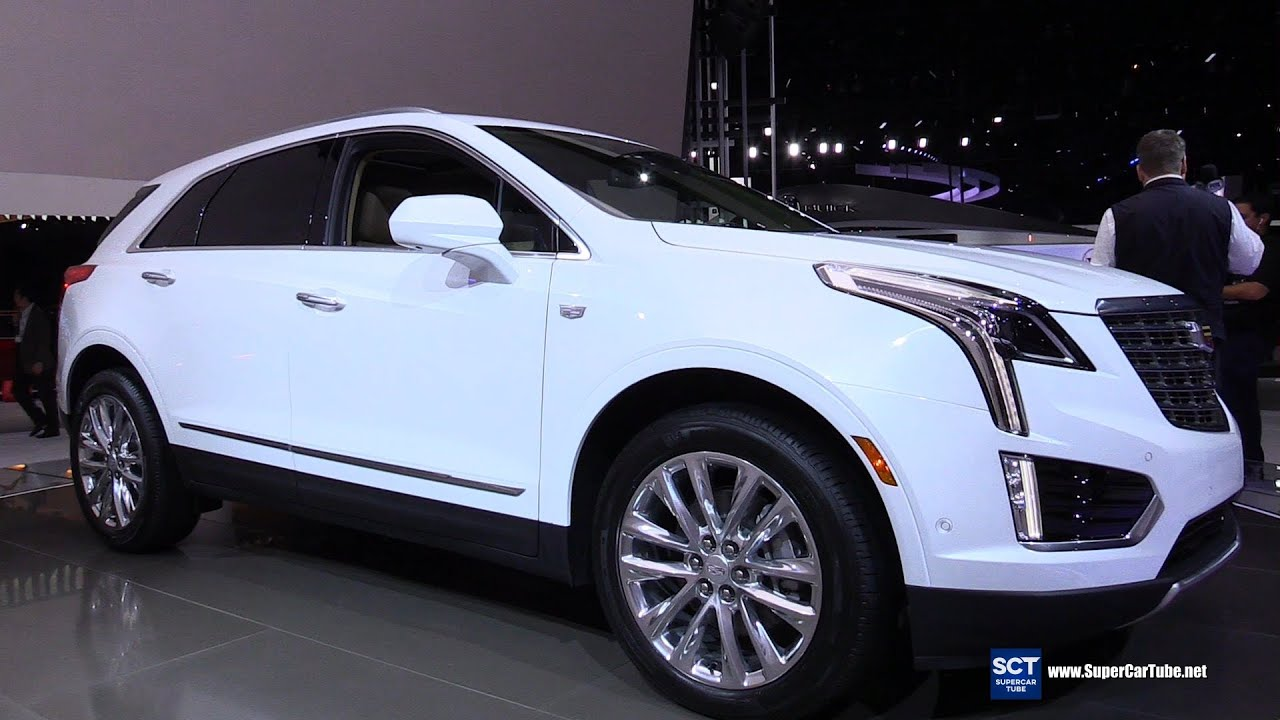 2017 Cadillac Xt5 Exterior And Interior Walkaround Debut At La Auto Show You